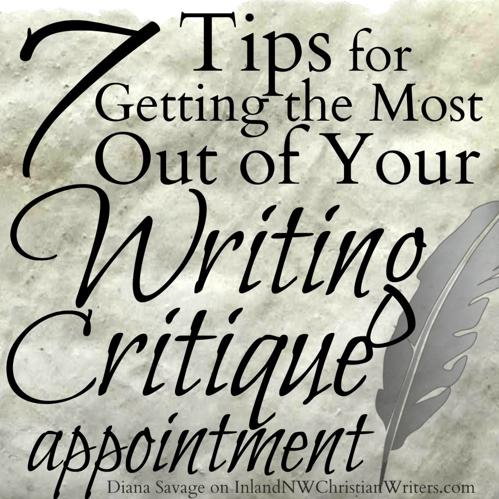7 Tips for Getting the Most Out of Your Writing Critique Appointment